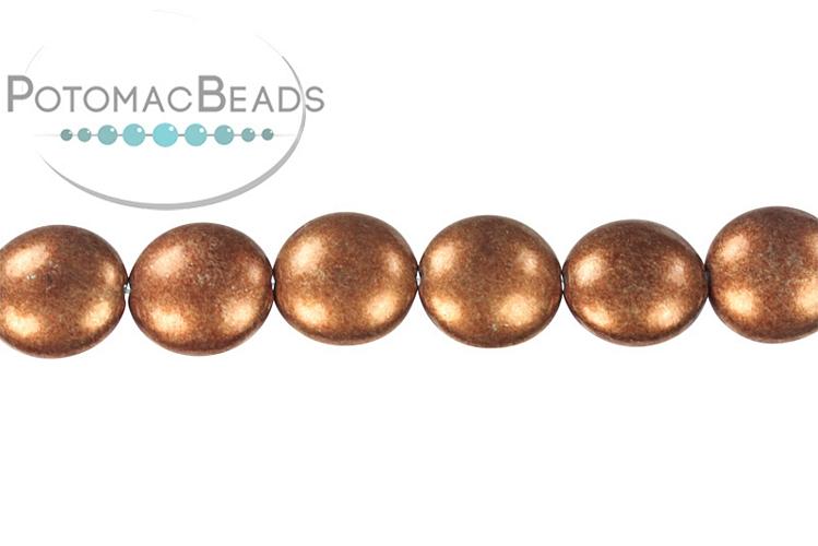 Cushion Beads - Metallic Potter's Clay