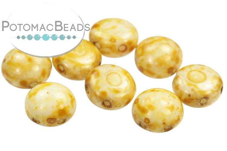 Candy Beads - Butter Pecan 8mm