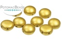 Candy Beads - Matte Gold - Aztec 8mm