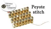 How to Bead Jewelry / Beading Tutorials & Jewel Making Videos / Basic Beadweaving Stitches / Peyote Stitch Tutorial