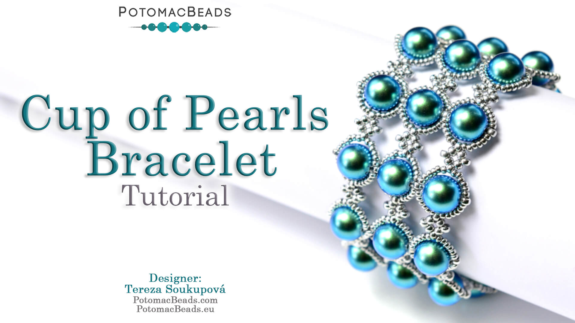 How to Bead Jewelry / Videos Sorted by Beads / Pearl Videos (Czech, Freshwater, Potomac Pearls) / Cup of Pearls Bracelet Tutorial