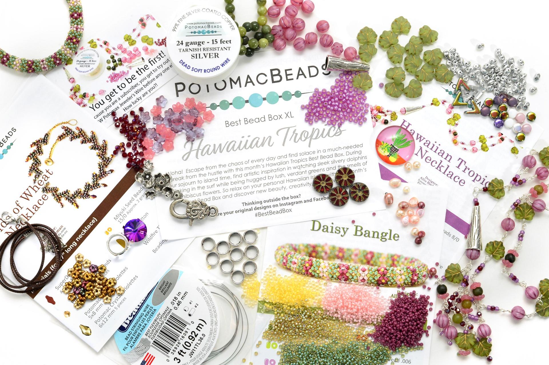 Subscription Inspiration / June Best Bead Box XL 2021