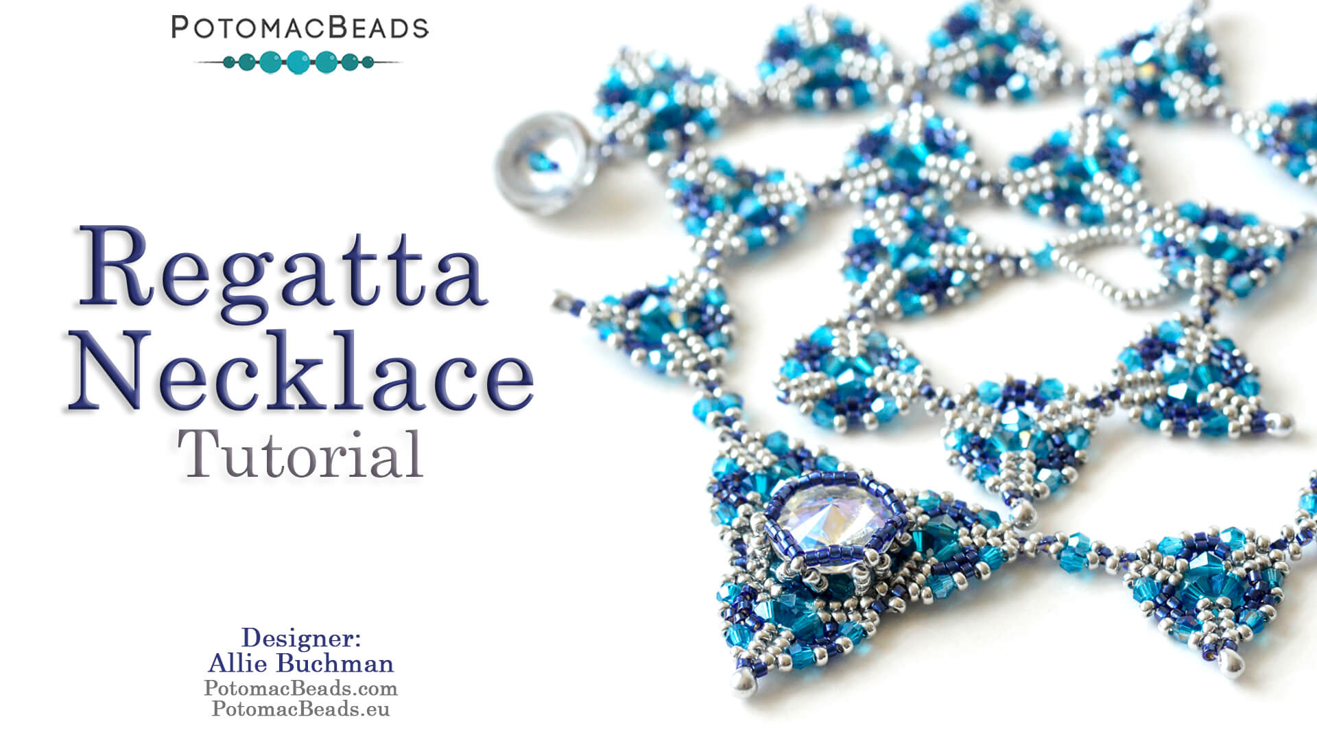 How to Bead Jewelry / Videos Sorted by Beads / Potomac Crystal Videos / Regatta Necklace Tutorial