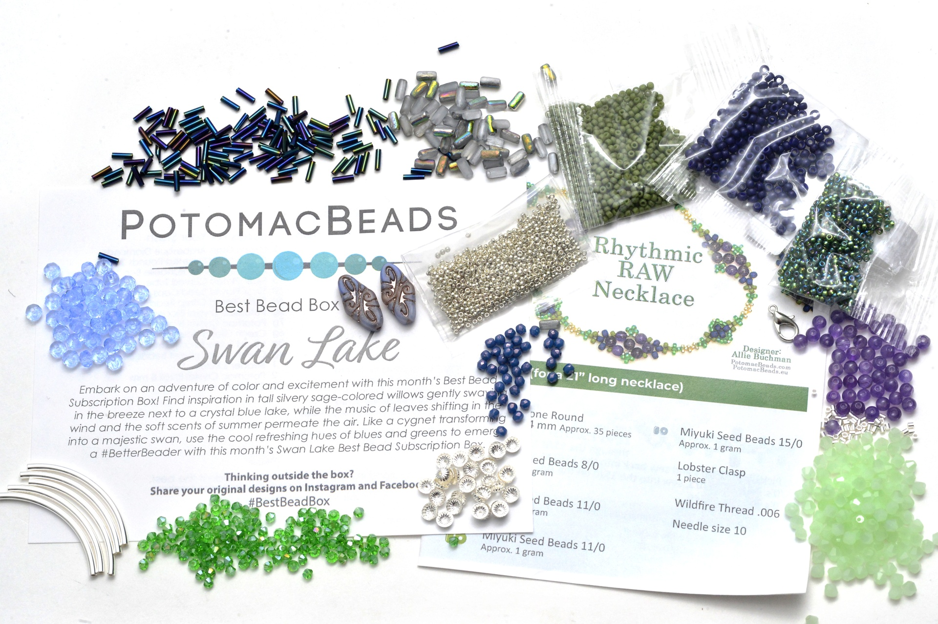 Subscription Inspiration / July Best Bead Box 2021