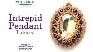How to Bead Jewelry / Beading Tutorials & Jewel Making Videos / Pendant Projects / Intrepid Pendant Tutorial