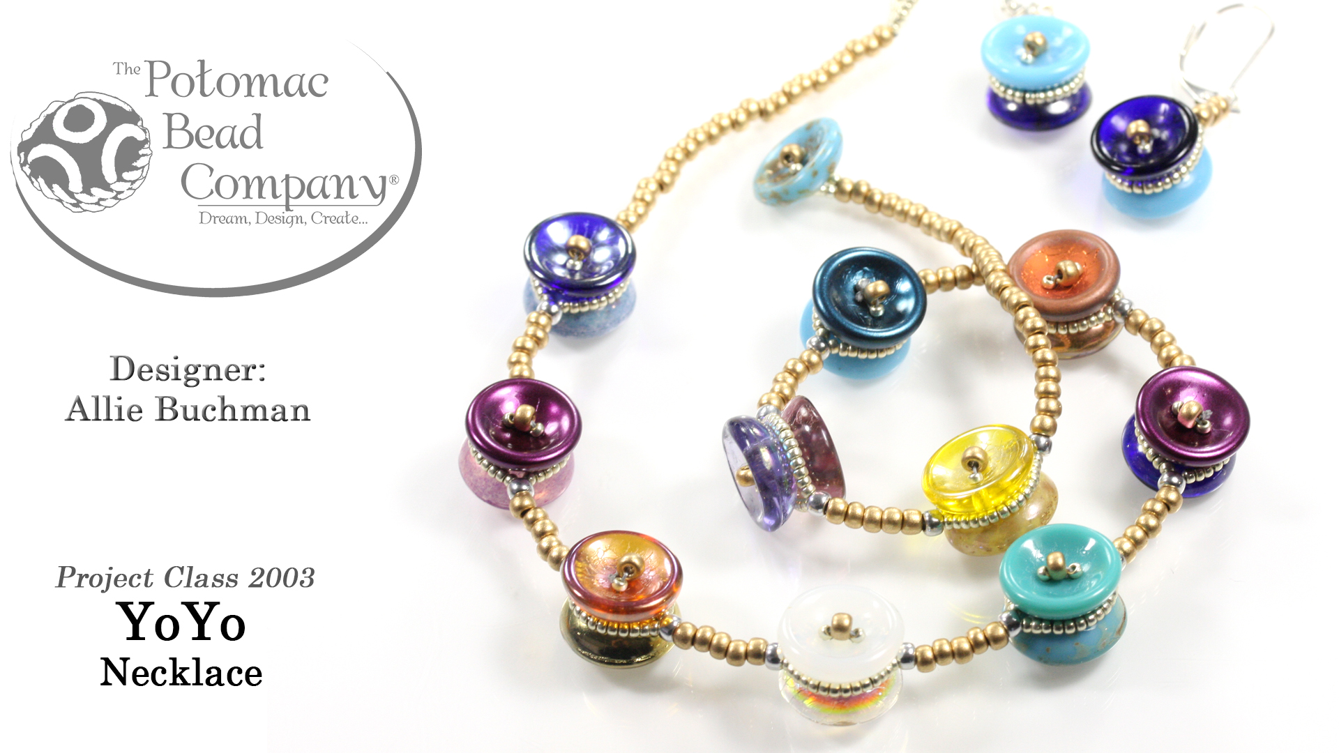 How to Bead / Free Video Tutorials / Stringing & Knotting Projects / Yoyo Necklace Tutorial