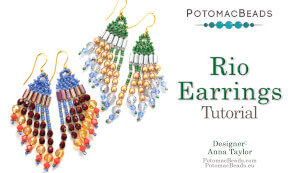How to Bead / Free Video Tutorials / Earring Projects / Rio Earrings Tutorial