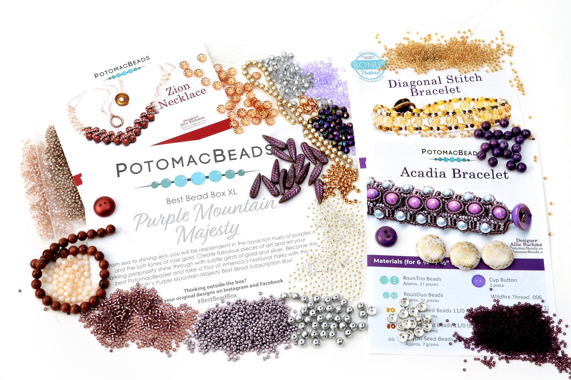 Subscription Inspiration / August Best Bead Box XL 2021