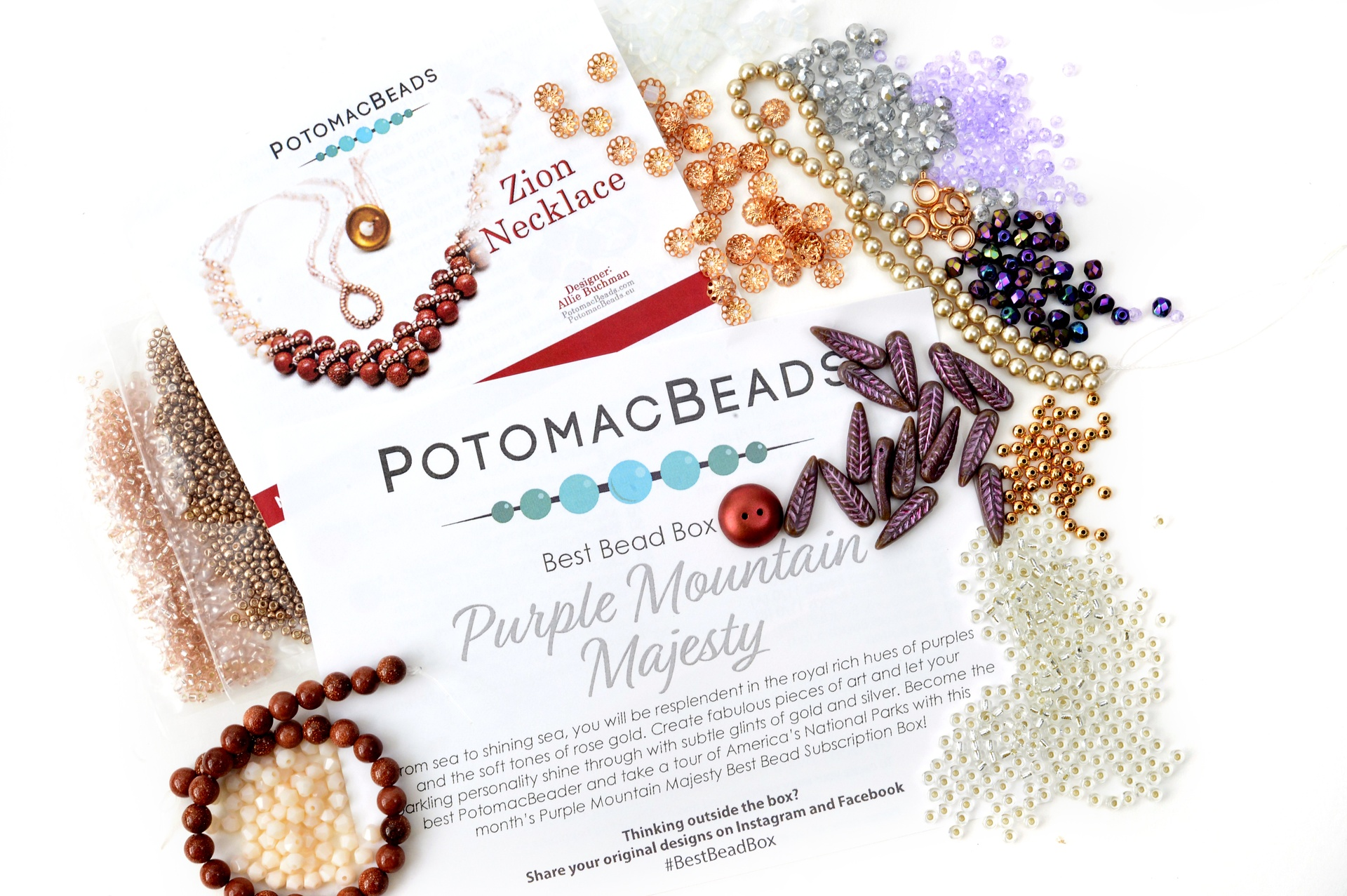 Subscription Inspiration / August Best Bead Box 2021