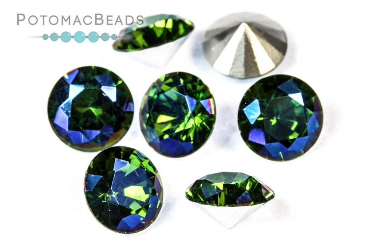 Jewelry Making Supplies & Beads / Beads and Crystals / Potomac Crystal Chatons 6mm (SS28)