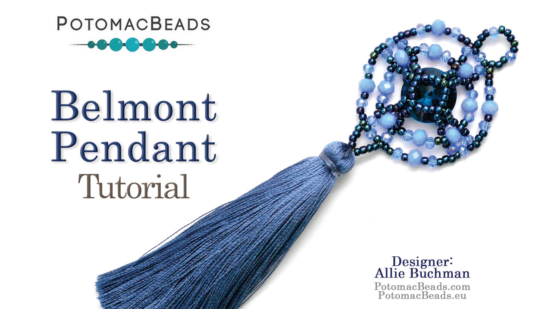 How to Bead Jewelry / Beading Tutorials & Jewel Making Videos / Pendant Projects / Belmont Pendant Tutorial