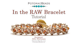 How to Bead Jewelry / Beading Tutorials & Jewel Making Videos / Bracelet Projects / In the RAW Bracelet Tutorial