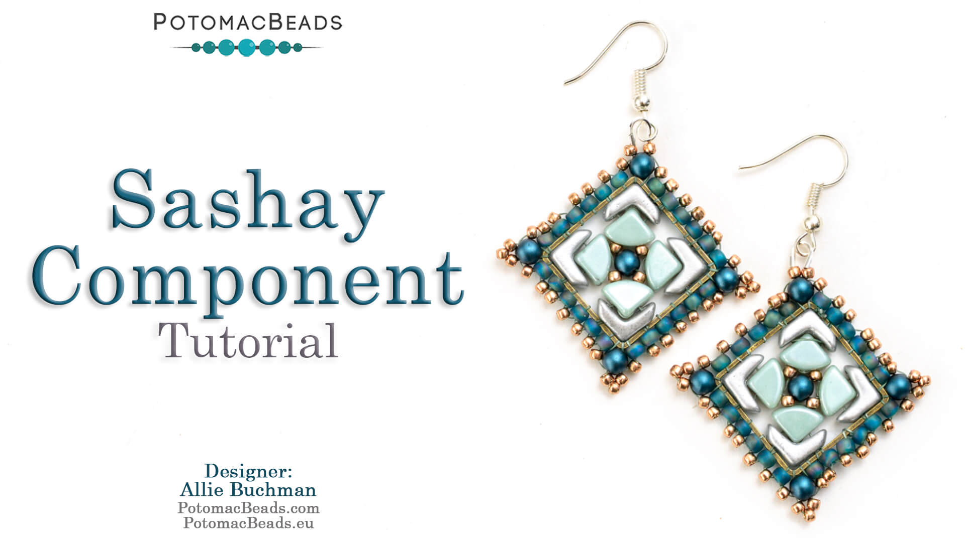 How to Bead Jewelry / Videos Sorted by Beads / EVA® Bead Videos / Sashay Component Tutorial