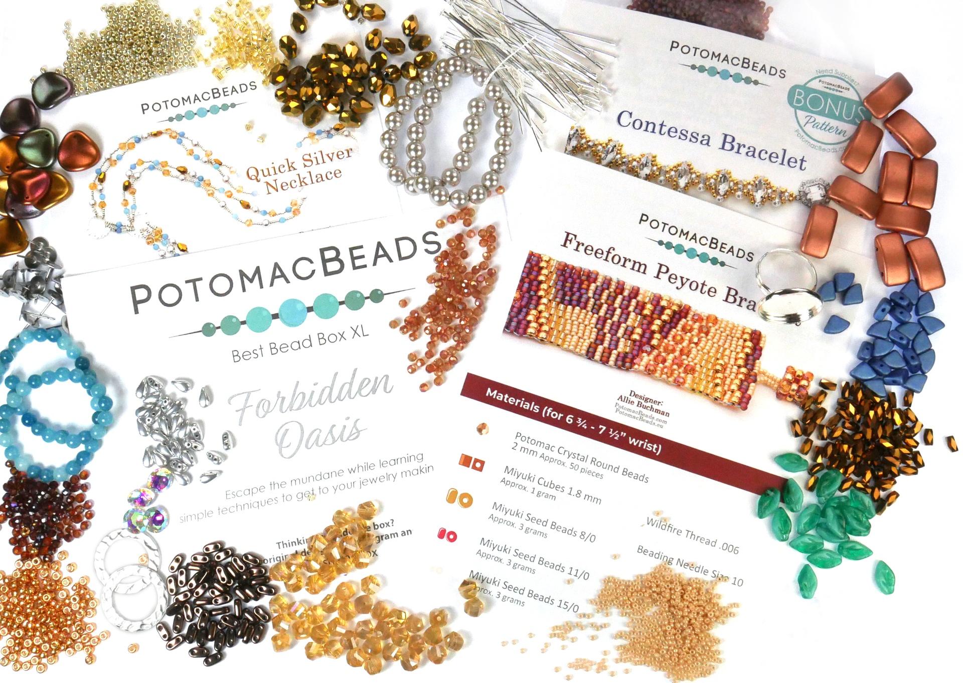 Subscription Inspiration / September Best Bead Box XL 2021
