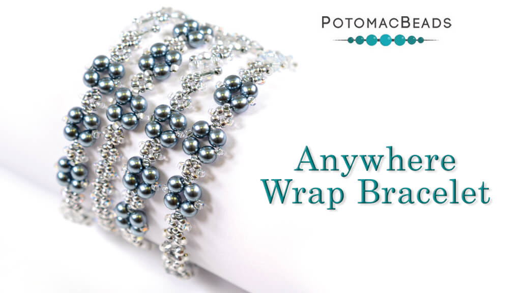 How to Bead Jewelry / Videos Sorted by Beads / Pearl Videos (Czech, Freshwater, Potomac Pearls) / Anywhere Wrap Bracelet Tutorial