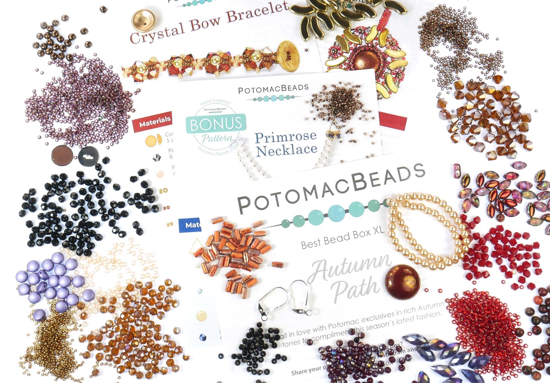 Subscription Inspiration / October Best Bead Box XL 2021
