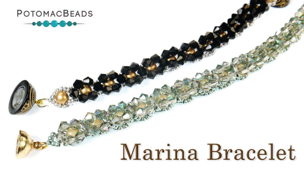 How to Bead Jewelry / Beading Tutorials & Jewel Making Videos / Bracelet Projects / Marina Bracelet Tutorial