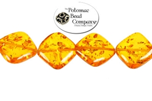 Jewelry Making Supplies & Beads / Gemstone Beads & Semi Precious Stone Beads / Amber (Manmade)