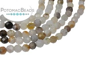 Jewelry Making Supplies & Beads / Gemstone Beads & Semi Precious Stone Beads / Bamboo Leaf Agate