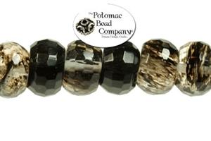 Jewelry Making Supplies & Beads / Gemstone Beads & Semi Precious Stone Beads / Black Moss Agate
