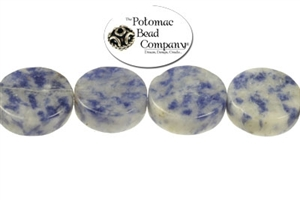 Jewelry Making Supplies & Beads / Gemstone Beads & Semi Precious Stone Beads / Denim Lapis