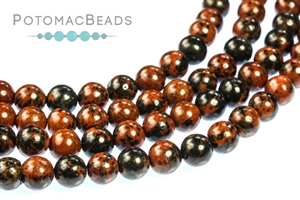 Other Beads & Supplies / Gemstones / Mahogany Obsidian