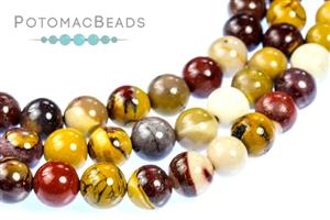 Jewelry Making Supplies & Beads / Gemstone Beads & Semi Precious Stone Beads / Mookaite