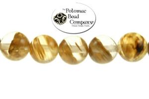 Jewelry Making Supplies & Beads / Gemstone Beads & Semi Precious Stone Beads / Rutilated Quartz (manmade)