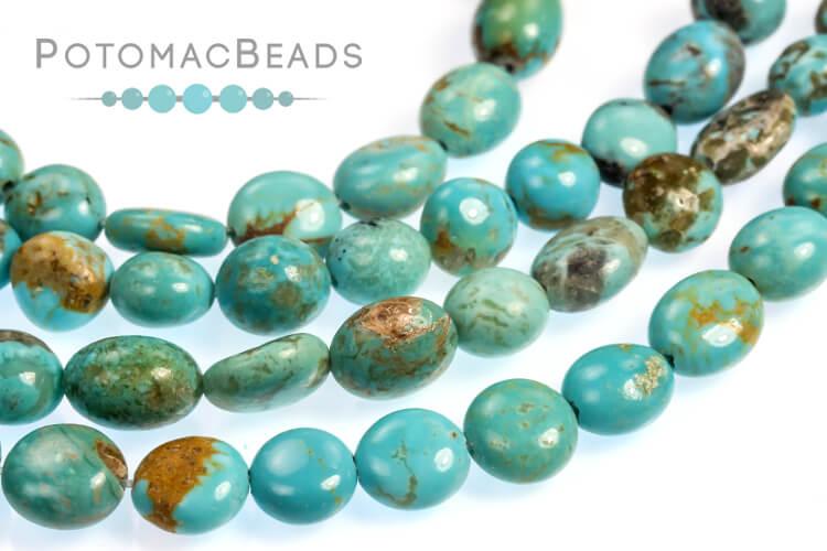 Jewelry Making Supplies & Beads / Gemstone Beads & Semi Precious Stone Beads / Turquoise Gemstones