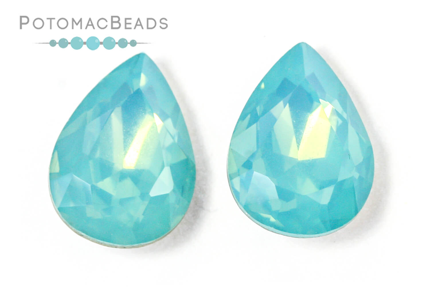 Jewelry Making Supplies & Beads / Beads and Crystals / Crystal Pear Drops