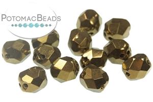 Czech Pressed Glass Beads / Czech Fire Polished Beads