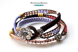 How to Bead Jewelry / Beading Tutorials & Jewel Making Videos / Stringing & Knotting Projects