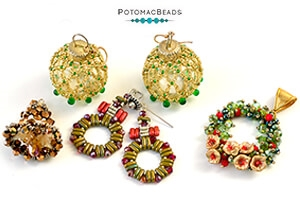How to Bead Jewelry / Beading Tutorials & Jewel Making Videos / Holiday Themed Projects