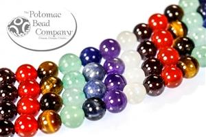 Jewelry Making Supplies & Beads / Gemstone Beads & Semi Precious Stone Beads / Sort By Shape / Rounds