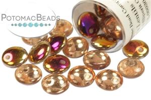 Czech Pressed Glass Beads / Lentils