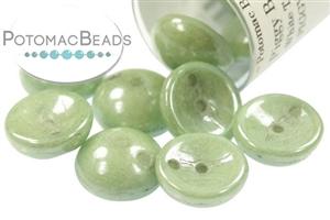 Czech Pressed Glass Beads / Piggy Beads