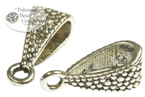 Jewelry Making Supplies & Beads / Metal Beads & Beads Findings / Bails / Silver Plated Bails