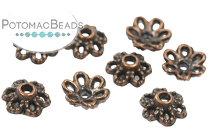 Jewelry Making Supplies & Beads / Metal Beads & Beads Findings / Bead Caps & Endcones / Copper Bead Caps & End Cones