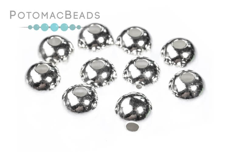 Jewelry Making Supplies & Beads / Metal Beads & Beads Findings / Beads / Sterling Silver Beads