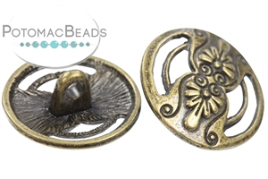 Jewelry Making Supplies & Beads / Buttons / Pewter Buttons