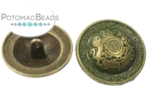 Jewelry Making Supplies & Beads / Buttons / Brass Buttons