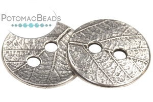 Other Beads & Supplies / Buttons / Silver Plated Buttons