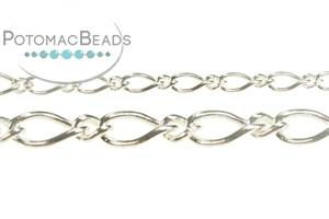 Jewelry Making Supplies & Beads / Metal Beads & Beads Findings / Chain / Silver Plated Chain