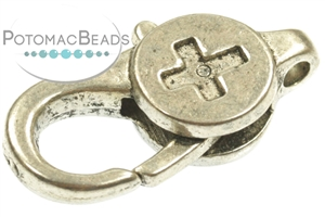 Other Beads & Supplies / Metal Beads & Findings / Clasps & Toggles / Pewter Clasps