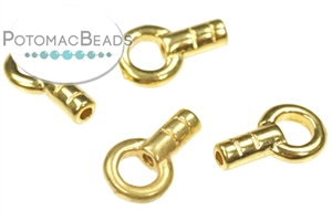 Jewelry Making Supplies & Beads / Metal Beads & Beads Findings / Crimps, Covers, & Cord Ends / Gold Plated Crimps, Covers, & Cord Ends