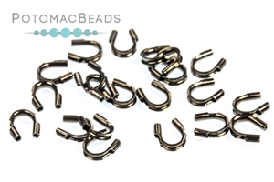 Other Beads & Supplies / Metal Beads & Findings / Crimps, Covers, & Cord Ends / Gunmetal Crimps, Covers, & Cord Ends