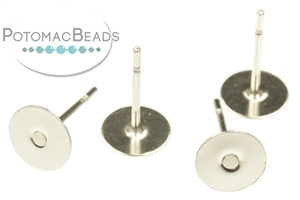 Other Beads & Supplies / Metal Beads & Findings / Headpins & Earwires / Silver-Filled Headpins, Earwires, & Earring Supplies