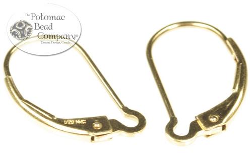 Other Beads & Supplies / Metal Beads & Findings / Headpins & Earwires / Gold & Vermeil Headpins, Earwires, & Earring Supplies
