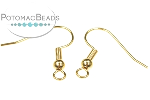 Other Beads & Supplies / Metal Beads & Findings / Headpins & Earwires / Gold Plated Headpins, Earwires, & Earring Supplies