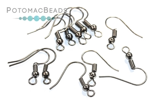 Jewelry Making Supplies & Beads / Metal Beads & Beads Findings / Headpins & Earwires / Gunmetal Headpins, Earwires, & Earring Supplies
